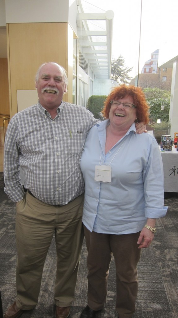 James and Dot  at the Spring 2015 Book Fair
