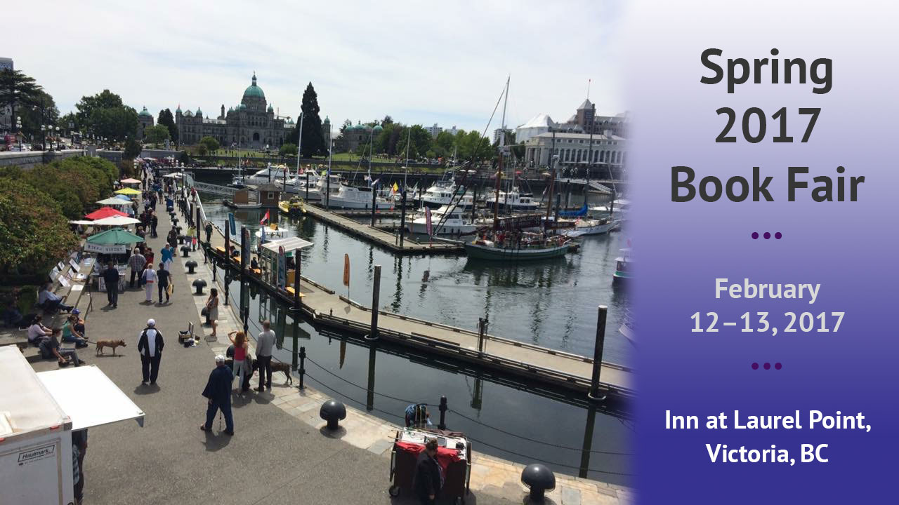 Join us at the Spring 2017 Book Fair in Victoria, BC