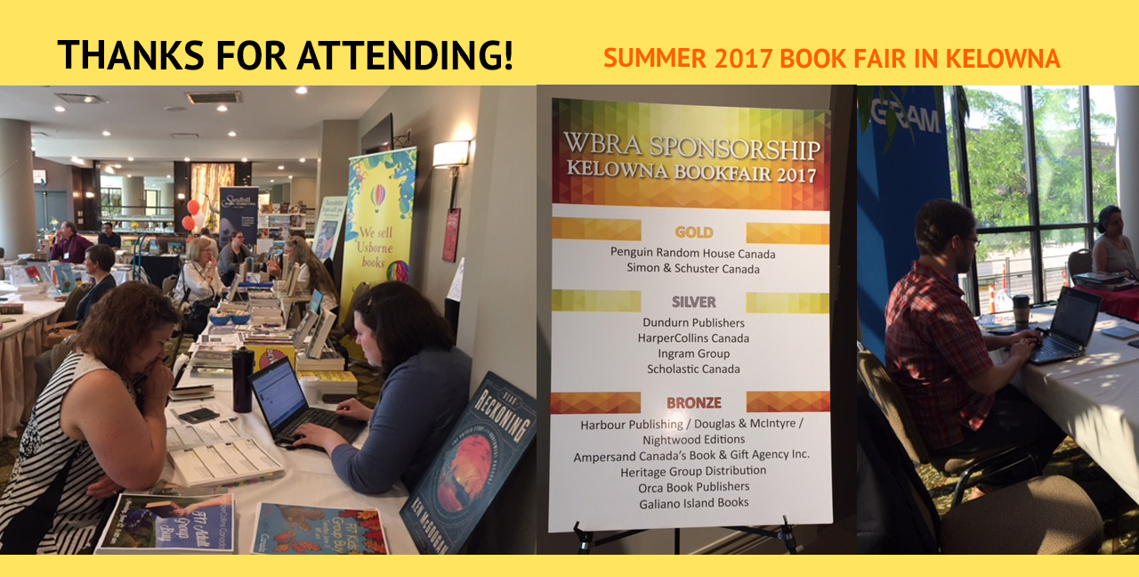 Thanks for attending the Summer 2017 Book Fair