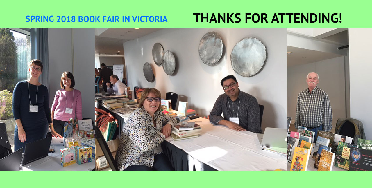 Thanks for attending the Spring 2018 Book Fair
